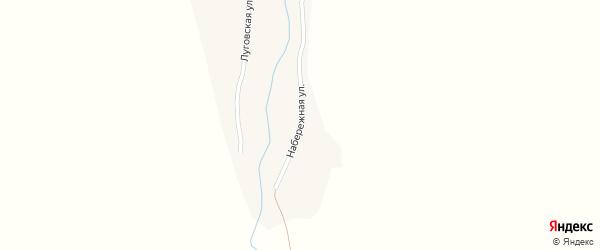 Набережная улица на карте села Шипунихи с номерами домов