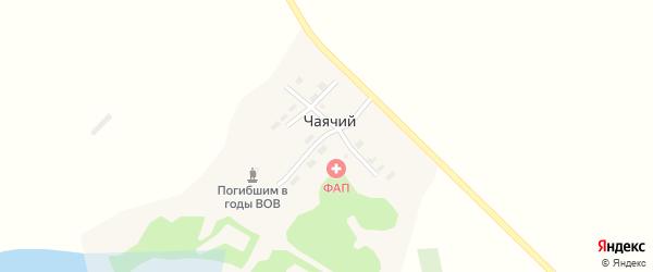 Придорожная улица на карте Чаячьего поселка с номерами домов