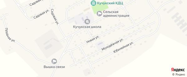 Новая улица на карте села Кучука с номерами домов