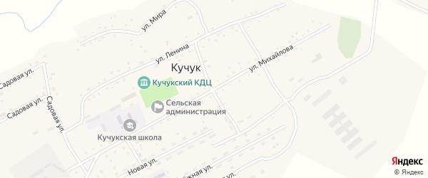 Улица Михайлова на карте села Кучука с номерами домов