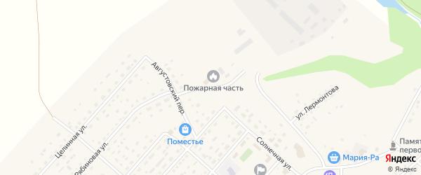 Промышленная улица на карте села Шелаболихи с номерами домов