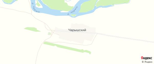 Карта Чарышского поселка в Алтайском крае с улицами и номерами домов