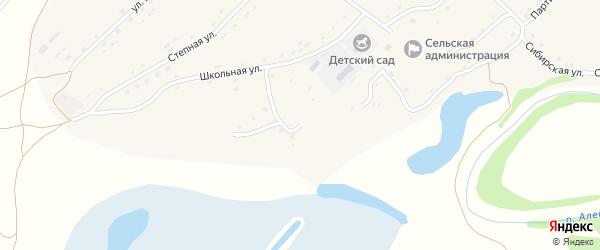 Луговая улица на карте села Урюпино с номерами домов