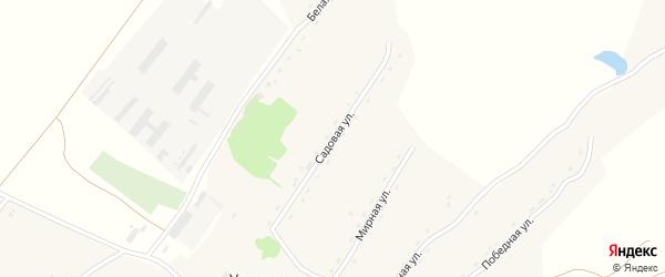 Садовая улица на карте села Урюпино с номерами домов