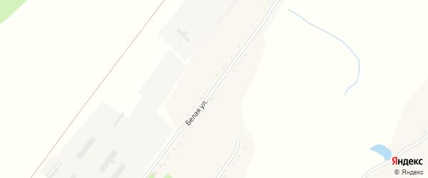 Белая улица на карте села Урюпино с номерами домов