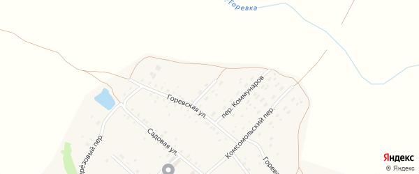 Новый переулок на карте поселка Заветы Ильича с номерами домов