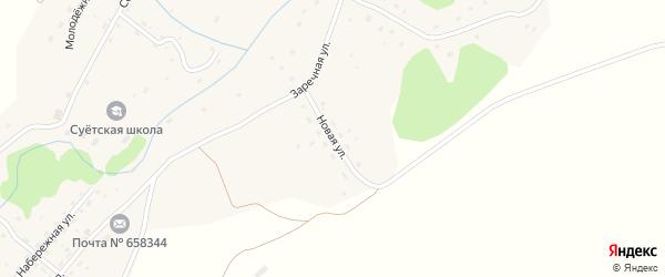 Новая улица на карте села Суетки с номерами домов