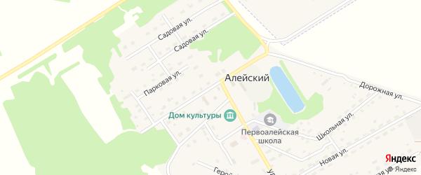 Советская улица на карте Алейского поселка с номерами домов