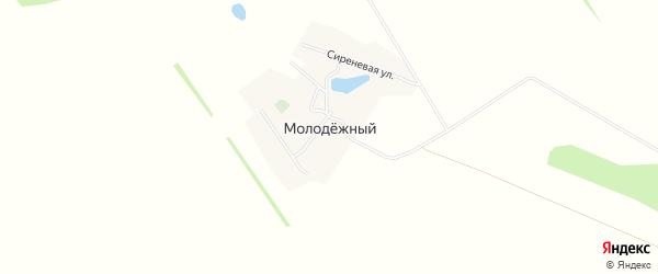 Карта Молодежного поселка в Алтайском крае с улицами и номерами домов