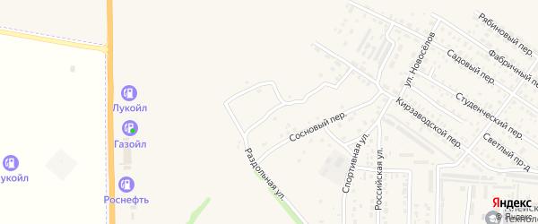 Кленовый переулок на карте Алейска с номерами домов