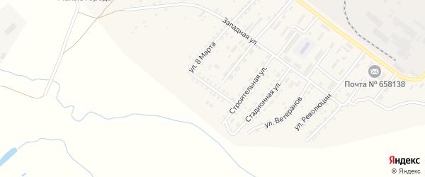 Рабочая улица на карте Алейска с номерами домов