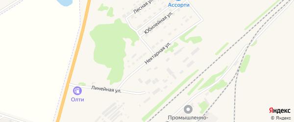 Нектарная улица на карте Алейска с номерами домов