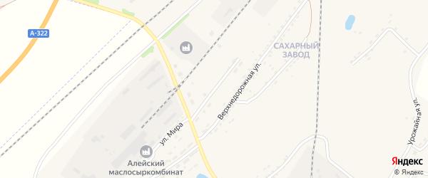 Сыркомбинатовская улица на карте Алейска с номерами домов