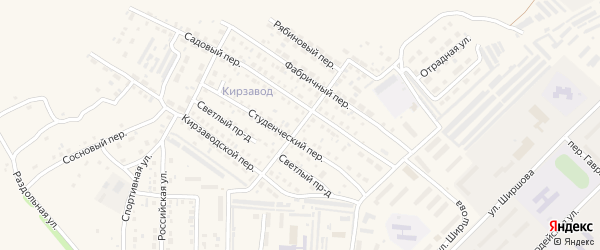 Дальняя улица на карте Алейска с номерами домов