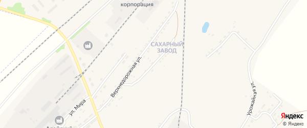 Сахзаводская улица на карте Алейска с номерами домов