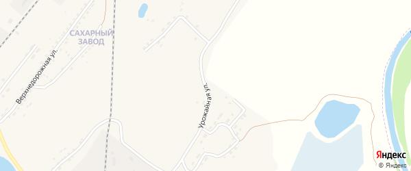 Урожайная улица на карте Алейска с номерами домов