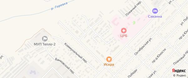 Проезд Севрикова на карте Алейска с номерами домов