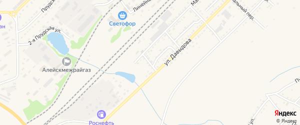 Алма-Атинский переулок на карте Алейска с номерами домов