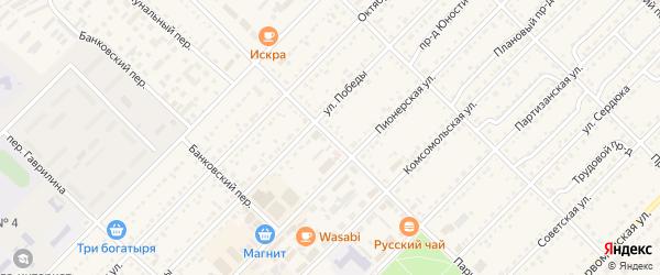 Парковый переулок на карте Алейска с номерами домов