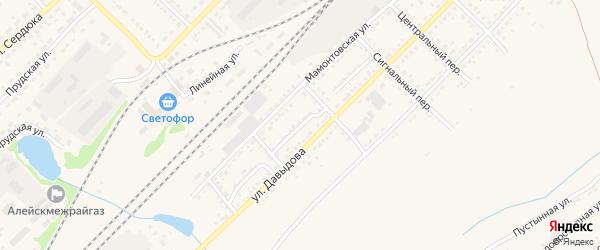 Южный проезд на карте Алейска с номерами домов