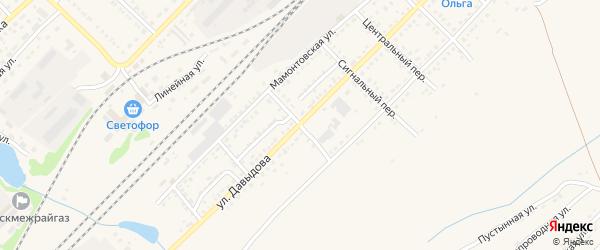 Семипалатинский переулок на карте Алейска с номерами домов