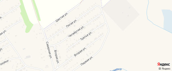Третья улица на карте микрорайона им С.Есенина с номерами домов