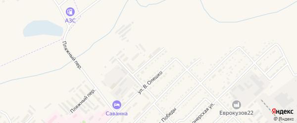 Улица Зеленая поляна на карте Алейска с номерами домов
