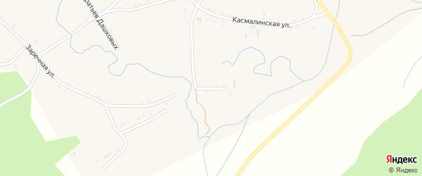 Заречная улица на карте села Рогозиха с номерами домов