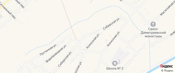 Сибирская улица на карте Алейска с номерами домов