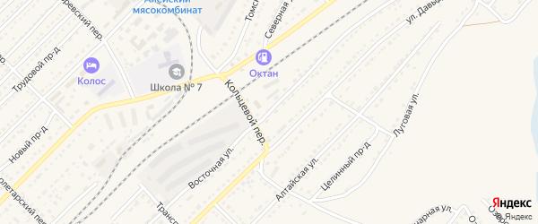 Восточная улица на карте Алейска с номерами домов