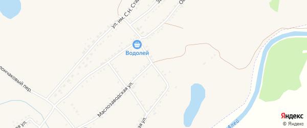 Малопанюшевский переулок на карте Алейска с номерами домов