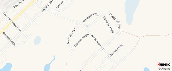 Гончарная улица на карте Алейска с номерами домов