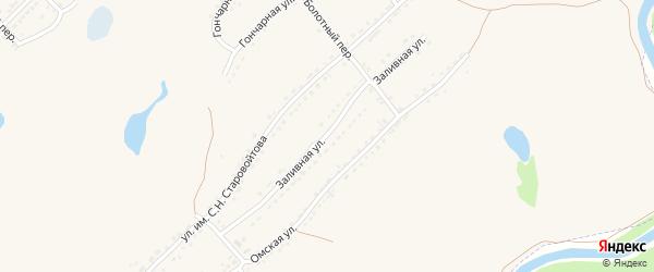 Заливная улица на карте Алейска с номерами домов