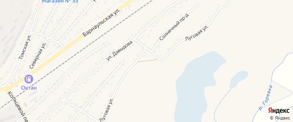 Луговая улица на карте Алейска с номерами домов