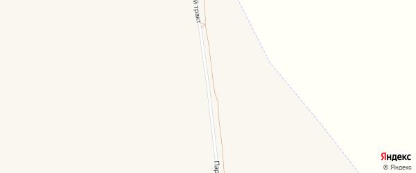 Парфеновский тракт на карте Алейска с номерами домов