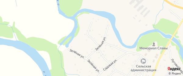 Плотинный переулок на карте села Маралихи с номерами домов