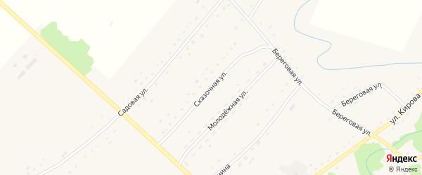 Сказочная улица на карте села Березовки с номерами домов