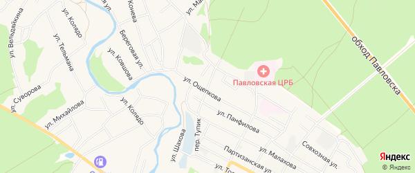 Карта поселка Сдт Шинник-2 в Алтайском крае с улицами и номерами домов