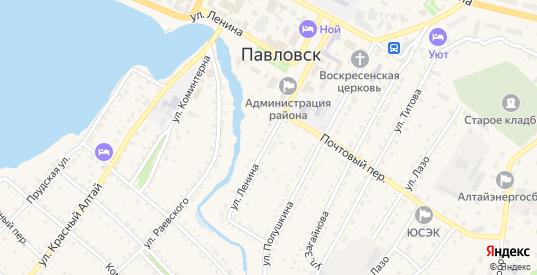Улица Ленина в селе Павловск