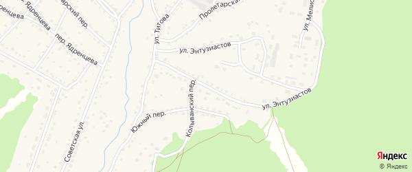 Черемновская улица на карте села Павловска с номерами домов