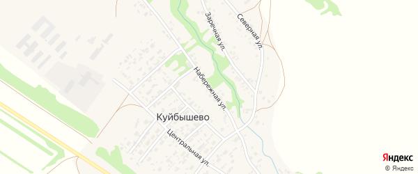 Набережная улица на карте села Куйбышево с номерами домов