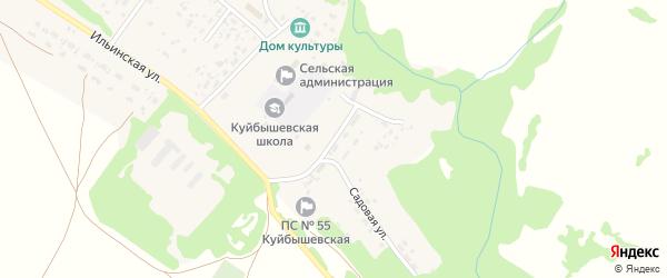 Строительный переулок на карте села Куйбышево с номерами домов