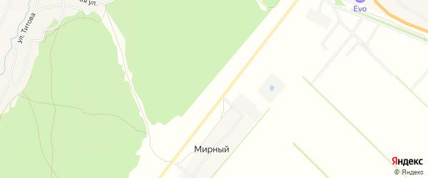 Карта территории сдт Черемновский садовод в Алтайском крае с улицами и номерами домов