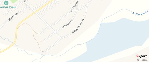 Набережная улица на карте села Фунтики с номерами домов
