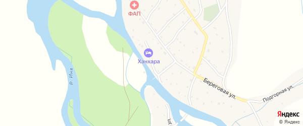 Фестивальная улица на карте села Чинеты с номерами домов