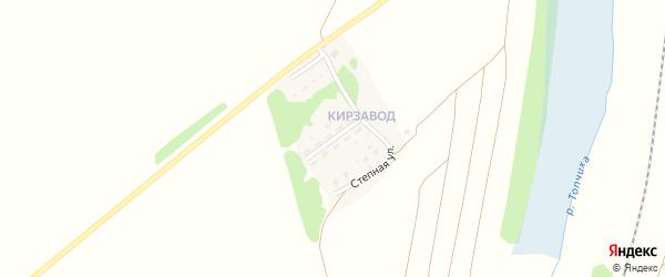 Строительная улица на карте села Топчихи с номерами домов