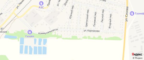 Улица Карнакова на карте села Топчихи с номерами домов