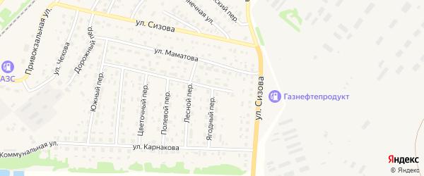 Улица Мира на карте села Топчихи с номерами домов
