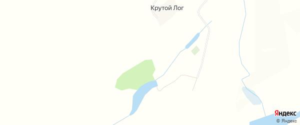 Карта села Крутого Лога в Алтайском крае с улицами и номерами домов