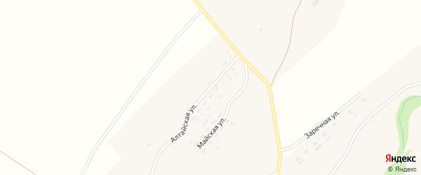 Алтайская улица на карте села Осколково с номерами домов